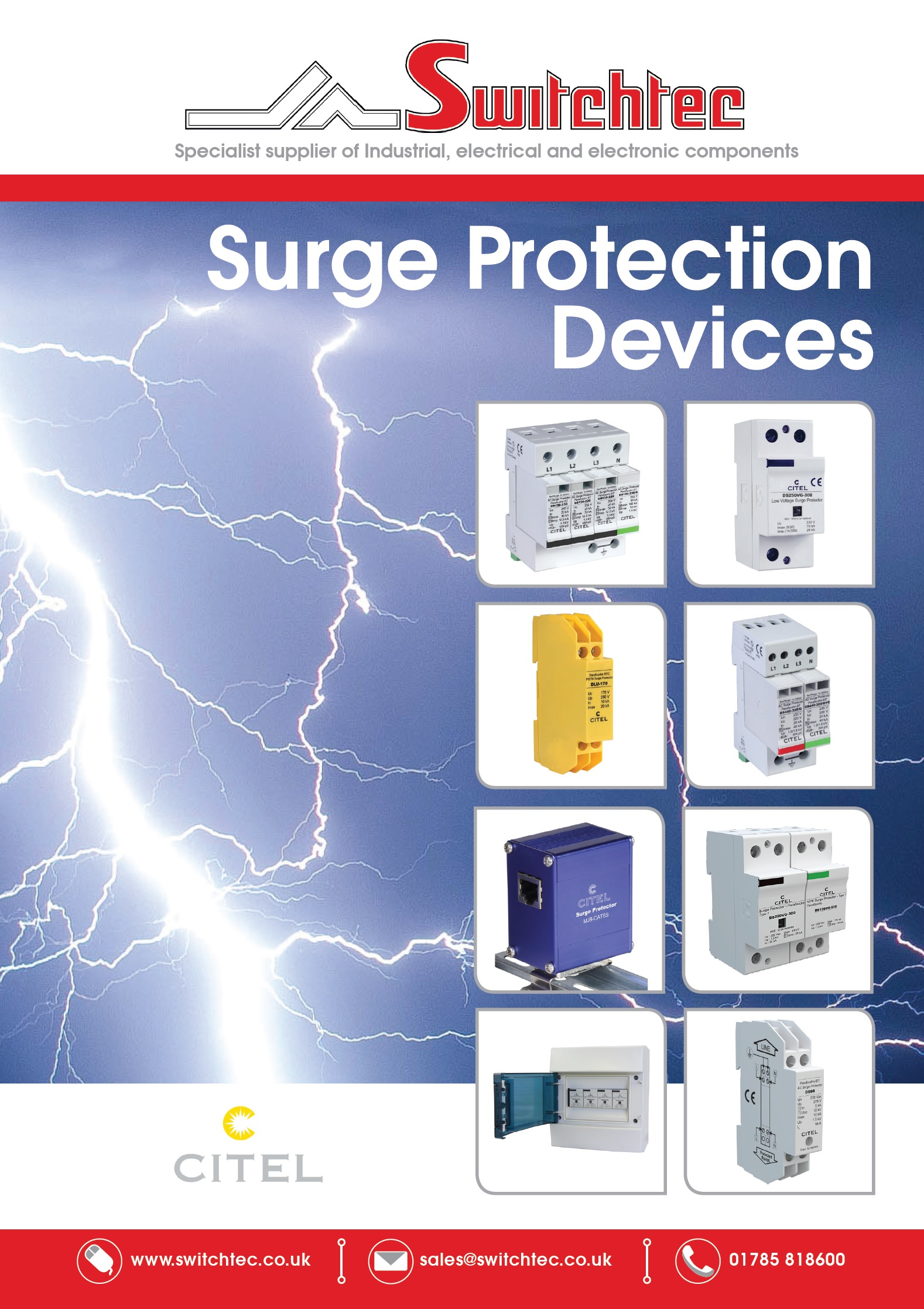 Surge Protection Devices Brochure