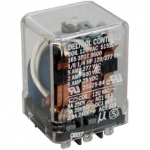 DELTROL 3PDT 13A POWER RELAY 24VAC