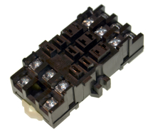 DIN RELAY SOCKET 166/268 SERIE