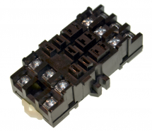 DELTROL DIN RELAY SOCKET 166/268 SERIES