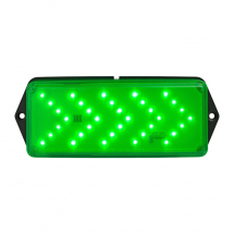 T4 LED GREEN V24DAC PART OF THE FOUR RANGE