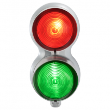 SIRENA TRAFFIC LIGHT RED/GREEN MULTIFUNCTION 24VAC/DC