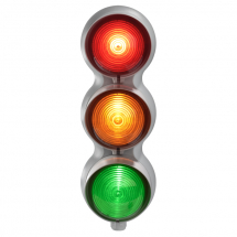 SIRENA TRAFFIC LIGHT RED/AMBER & GREEN MULTIFUNCTION 120/240V
