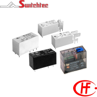 HF115F Series - 1 & 2 Pole Relay 8-20 Amp