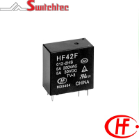 HF42F Series - 2 Pole Relay 5 Amp