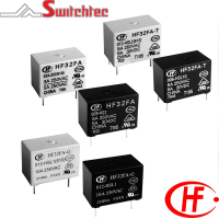 HF32FA-T/G Series - 1 Pole Relay 3-10 Amp