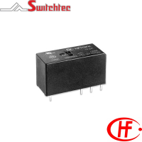HF115FK Series - 1 & 2 Pole Normally Open/Changeover Relay 8-16 Amp