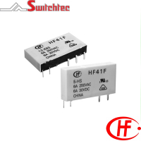 HF41F Series - 1 Pole Relay 6 Amp
