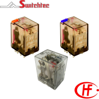 HF18F Series - 2, 3 & 4 Pole Relay 5 - 7 Amp