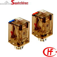 HF10FH Series - 2 & 3 Pole Relay 10 Amp