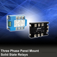 Three Phase Panel Mount Solid State Relays