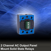 i-Autoc 2 Channel AC Output Panel Mount SSR Relays