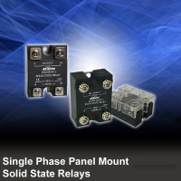 Single Phase Panel Mount Solid State Relays