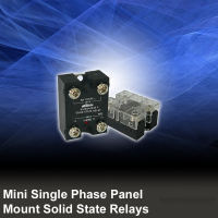 Mini Single Phase Panel Mount Solid State Relays