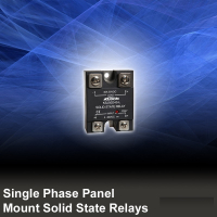 Single Phase Panel Mount Solid State Relays AC Output