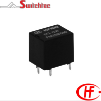 HFKW-SH Series - 1 Pole Double Normally Open Contact Relay 600mW & 1.0W, 2 x 6 Amp