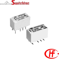 HFD3 Series - 2 Pole Changeover Relay 2 Amp