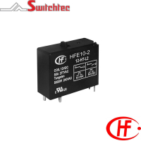 HFE10 Series - 1 Pole Changeover/Normally Open/Normally Closed Relay 1.5W, 3W 40-50 Amp