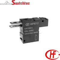 HFE12 Series - 1 Pole Normally Open/Normally Closed Relay 2.4W, 4.8W 120 Amp