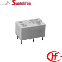 HFE60P Series - 1 & 2 Pole Normally Open/Normally Open + Normally Closed Relay 5-8 Amp