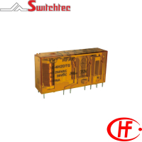 HFA6 Series - 3-5 Pole Normally Open + Normally Closed Relay 6 Amp
