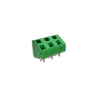 7.5mm Spring Clamp Screwless PCB Terminal Block