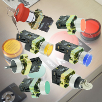 i Series - Pushbuttons, Key Switches, Selector Switches & Pilot Lamps
