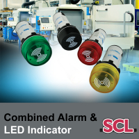 SCL 22mm LED + Alarm Indicators