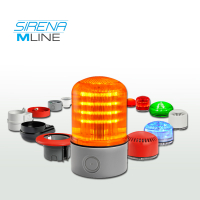 Sirena Modular MLine LED Beacons & Alarms