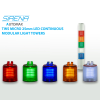 Sirena Micro TWS 25mm Modular Light Towers 24VAC/DC