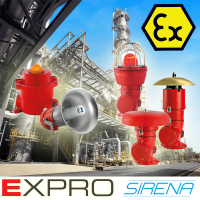 Sirena Exd Explosion Proof Alarms & Beacons