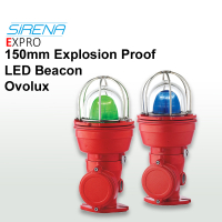 Sirena 150mm Exd Explosion Proof LED Beacon OVOLUX