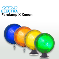 240VAC Xenon Traffic Managment Lights