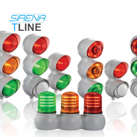 Sirena Modular TLine Industrial Traffic Lights