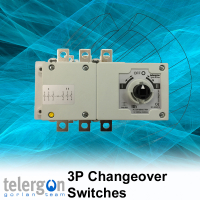 3 Pole Side by Side Changeover Switches 40-160 Amp type S5L