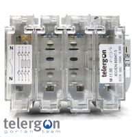 Telergon 3 Pole & Neutral Fused Switch Disconnectors