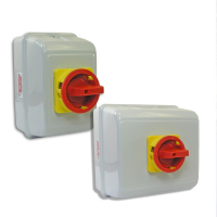 SCL 4 Pole Metal Enclosed Rotary Isolators