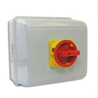 SCL 6 Pole Metal Enclosed Rotary Isolators