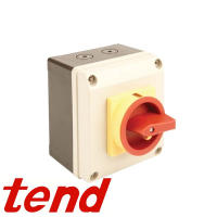 Tend IP65 Plastic Enclosed Isolators type TD Series