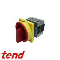 Tend 3 Pole Rear Mount Isolators