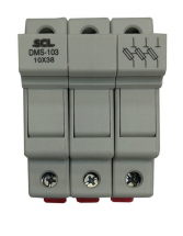 SCL MODULAR FUSE HOLDER 3 POLE 10 x 38mm
