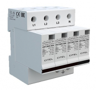 CITEL 3 PHASE+N TYPE 2 SPD Imax 40KA 230/400V TN +VG