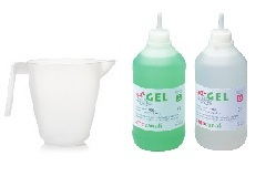 ARNOCANALI INSULATING SEALING GEL 1LTR WITH MEASURING JUG & SPATULA