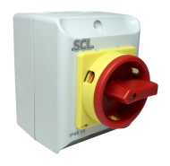 20A 4P IP65 ENCLOSED ISOLATOR