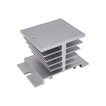 HEAT SINK FOR 1PH SSR RELAYS WITH DIN RAIL CHANNEL