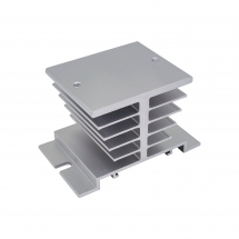 i-AUTOC HEAT SINK FOR 1PH SSR RELAYS WITH DIN RAIL CHANNEL