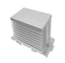 HEAT SINK FOR 1PH SSR RELAYS WITH DIN RAIL CLIP