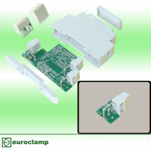 EUROCLAMP PCB TERMINAL BLOCK ANGLED 16A 5mm 3 POLE RIGHT