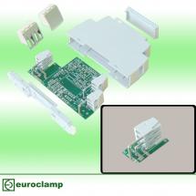 EUROCLAMP PCB TERMINAL BLOCK ANGLED 16A 5mm 3 POLE LEFT