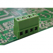 EUROCLAMP PCB TERMINAL BLOCK ANGLED 16A 5mm 3 POLE